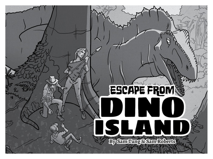 Indie RPG: Escape from Dino Island