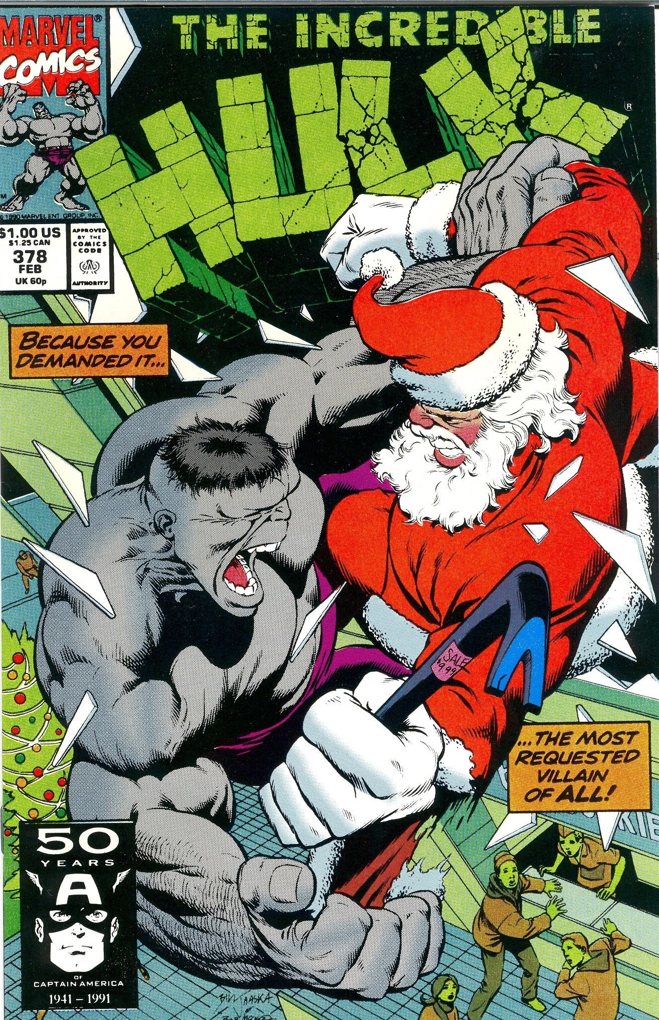 Anyone Comics is open on Christmas!!